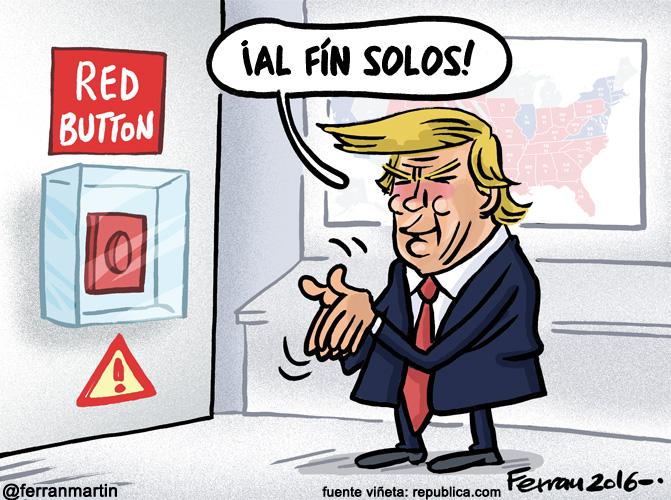 La viñeta: Trump manda