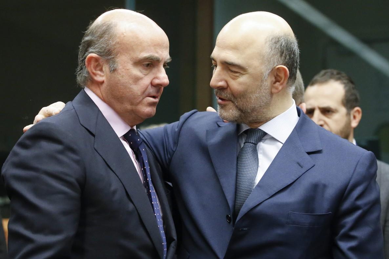 A REUNIÓN DE LOS RESPONSABLES DE ECONOMÍA Y FINANZAS DE LA ZONA DEL EURO