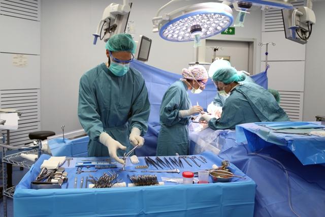 El Vall d'Hebron logra un nuevo 'récord' con 10 trasplantes en 24 horas