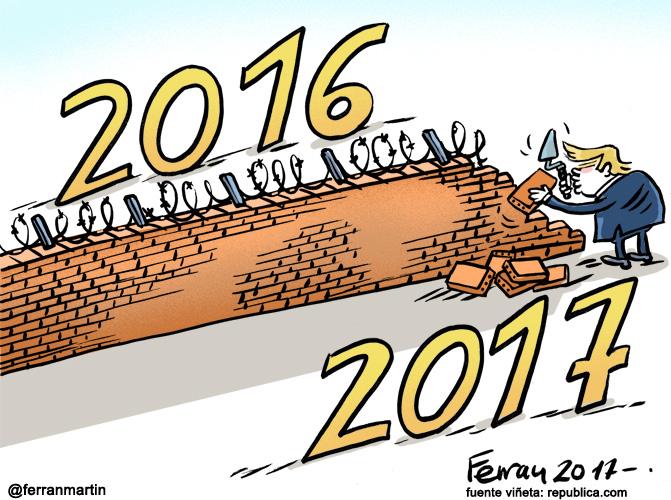 La viñeta: Feliz año nuevo