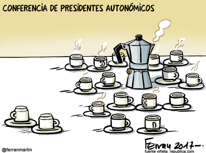 La viñeta: El café