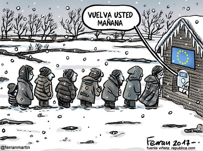 La viñeta: Congelados