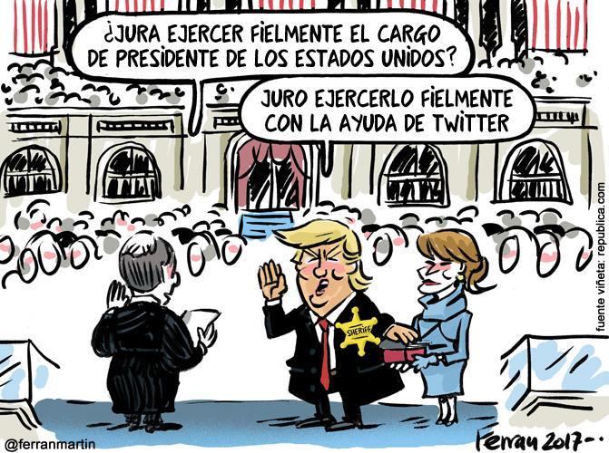 La viñeta: Trump, presidente