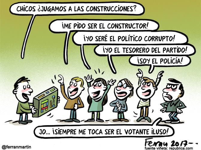 La viñeta: Construcciones