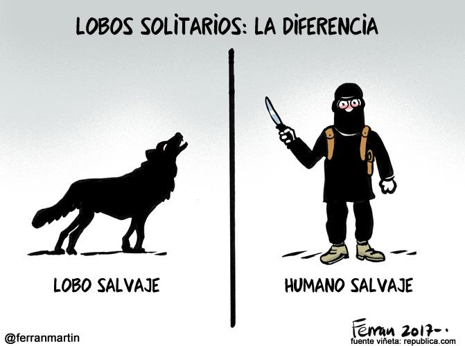 La viñeta: Lobos