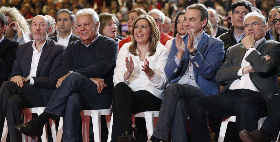 """Resultado de imagen de Díaz presenta su candidatura para que el PSOE """"vuelva a ganar"""""""