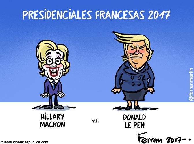 La viñeta: Presidenciales francesas
