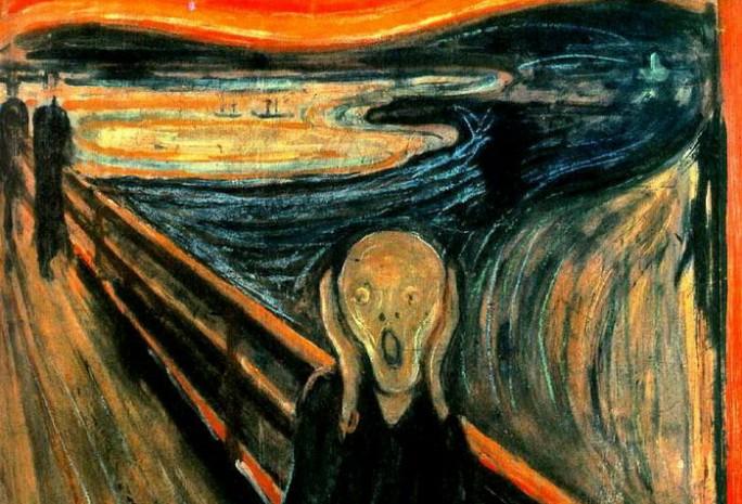 Resultado de imagen de el grito de munch