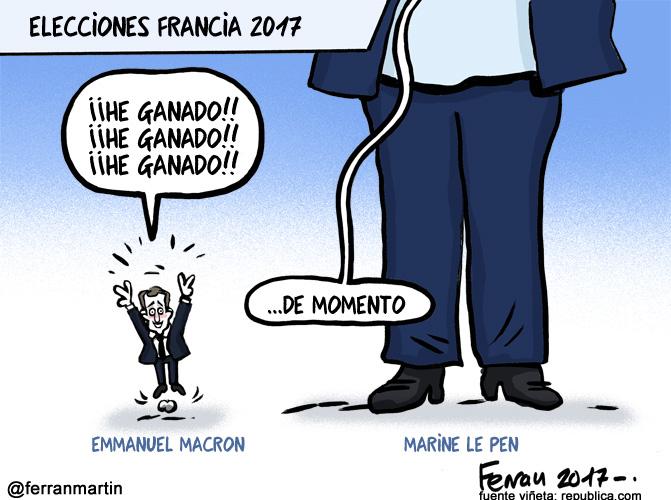 La viñeta: Elecciones Francia 2017