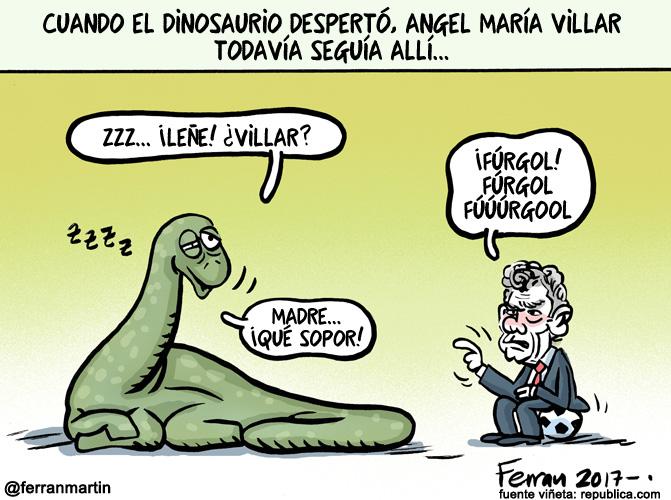 La viñeta: El dinosaurio