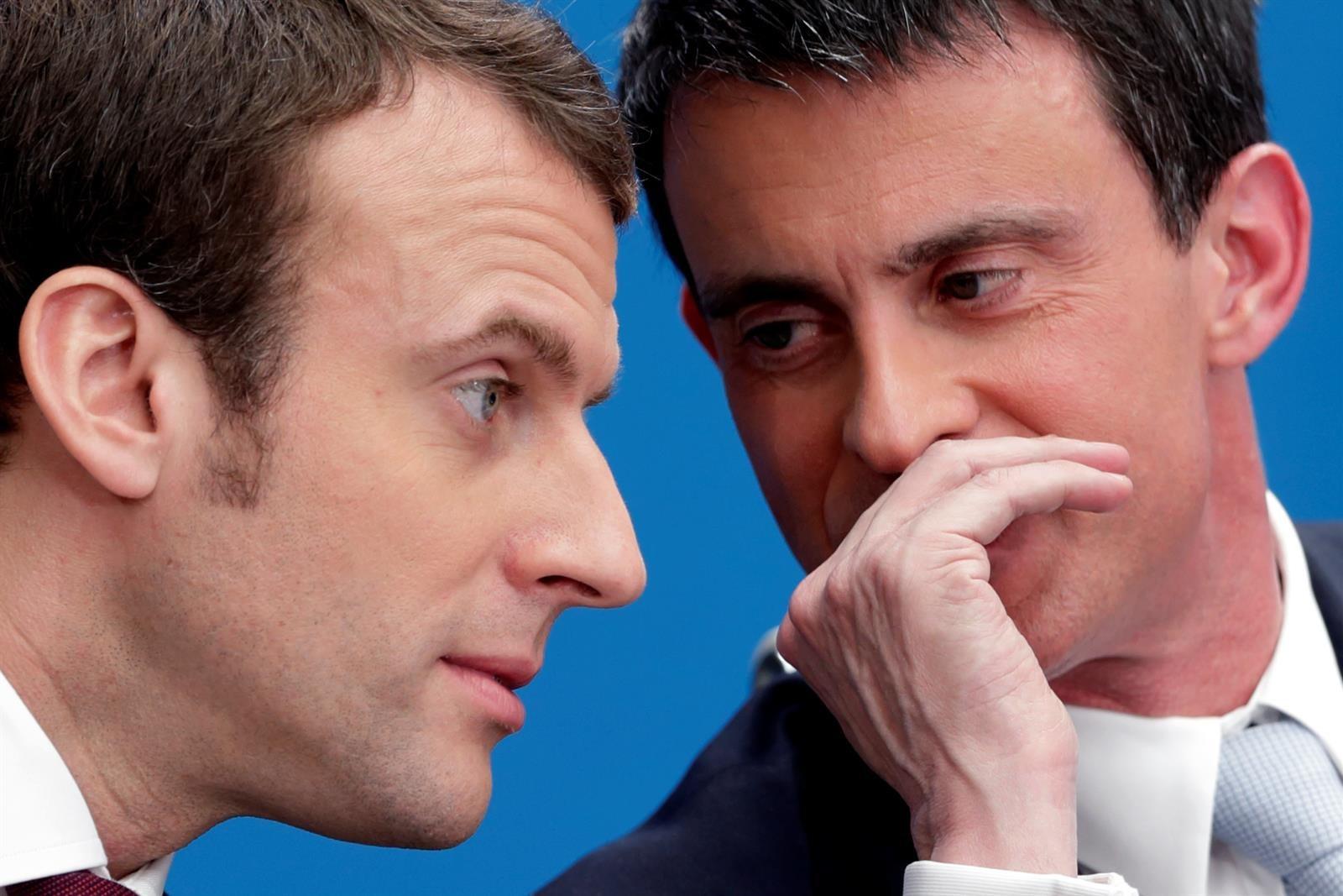 """Valls aplaude la decisión de Macron e insiste en que estará con """"la mayoría presidencial"""""""