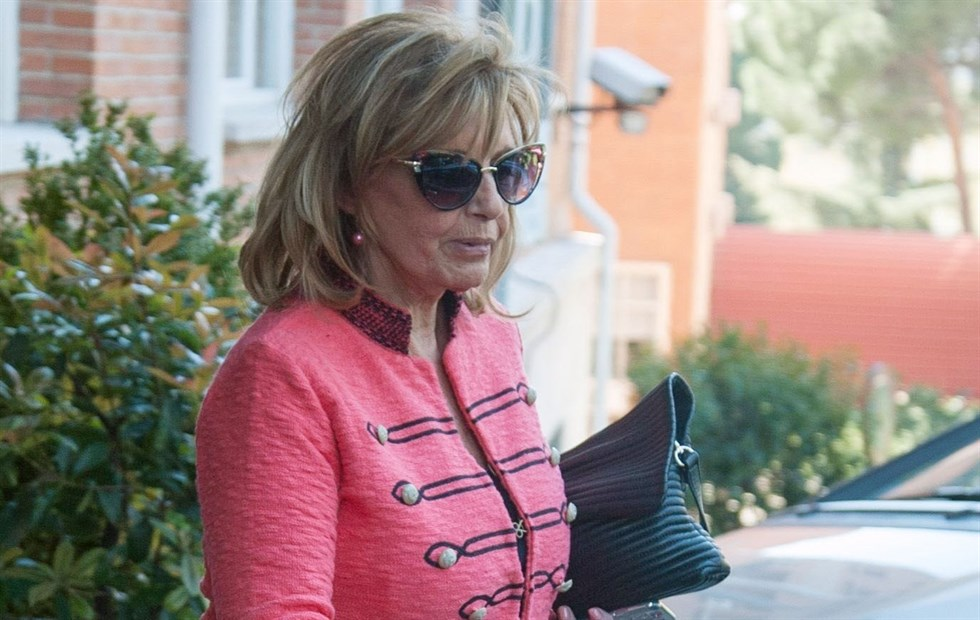 María Teresa Campos, ingresada de urgencia por una isquemia cerebral