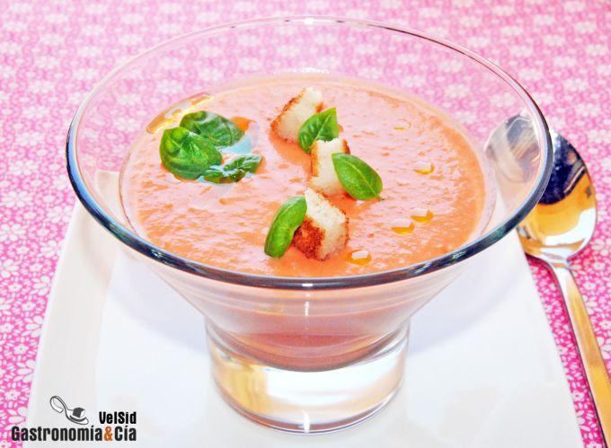Recetas frías: Tomates
