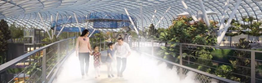Singapur tendrá un aeropuerto aún más espectacular