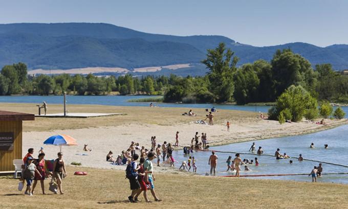 Playas de interior para disfrutar del agua con niños