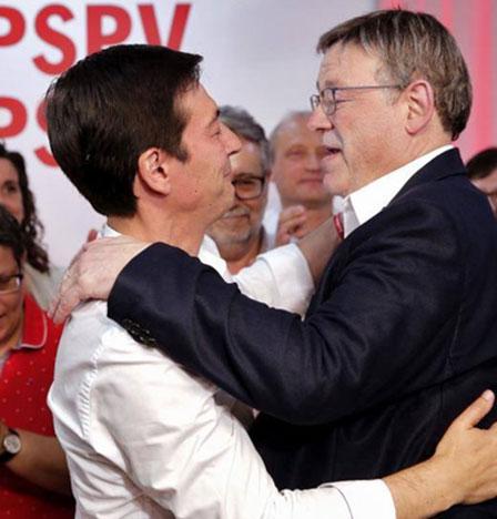 Puig sugiere que no fue responsable disputarle el liderazgo del PSPV y defiende la integración