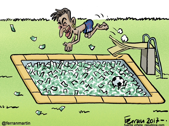 La viñeta: El piscinero