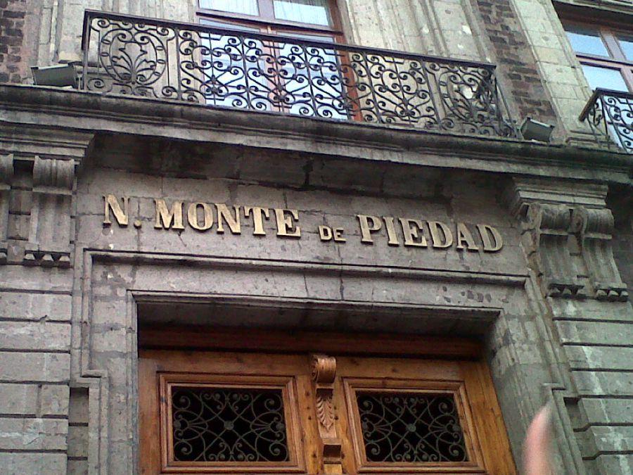 Resultado de imagen de MONTES DE PIEDAD.