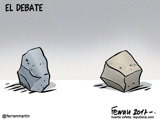 La viñeta: El debate