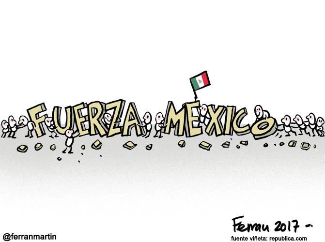 La viñeta: Fuerza, México