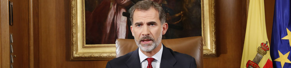 rey cataluña estado españoles españa mensaje discurso