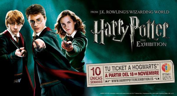 Harry Potter: The Exhibition\' se prorroga antes de empezar por el ...