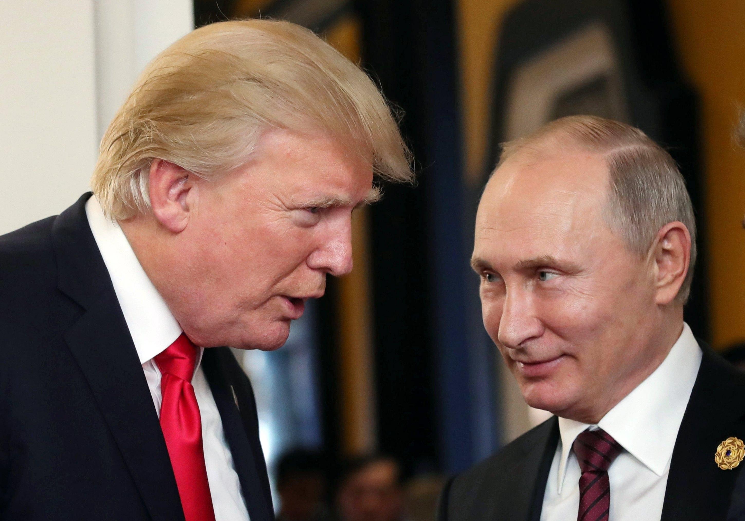Putin y Trump niegan injerencias rusas en EEUU y abogan por mejorar relaciones