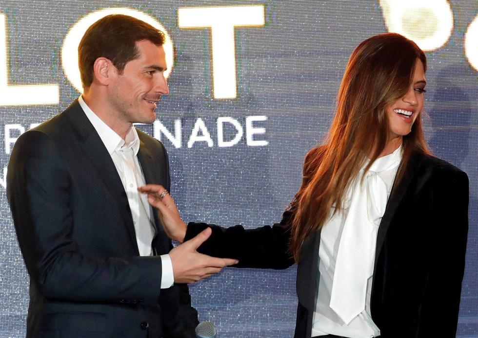 Sara Carbonero, orgullosa de Iker Casillas