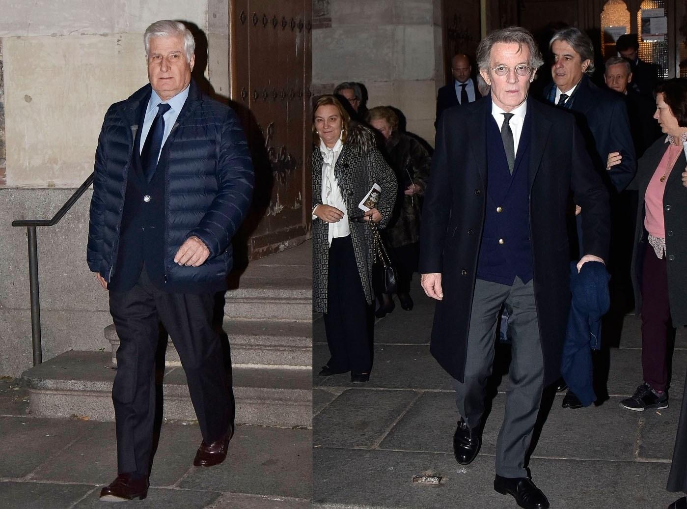 El Duque de Alba y Alfonso Díez, juntos de nuevo en memoria de la Condesa de Romanones