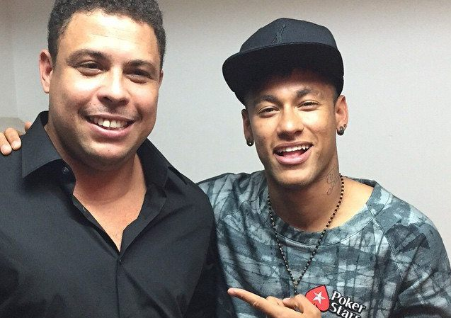 Resultado de imagen para ronaldo nazario y neymar