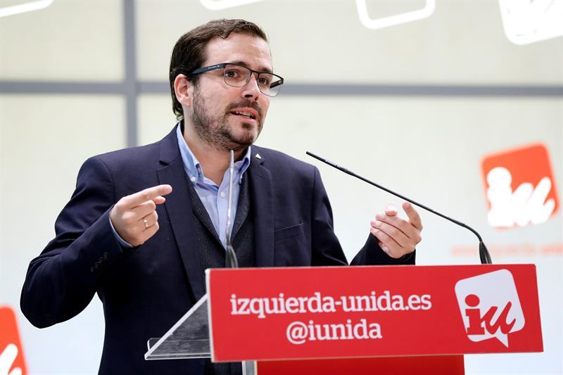 Garzón dice a Podemos que 'hay tiempo' para corregir 'algunas deficiencias' en las confluencias