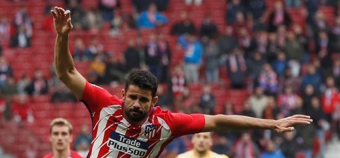 Costa sufre una lesión muscular y será baja ante el Sevilla