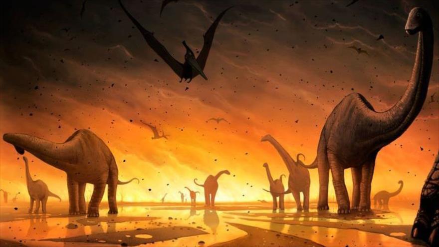 Resultado de imagen de Extinción de dinosaurios
