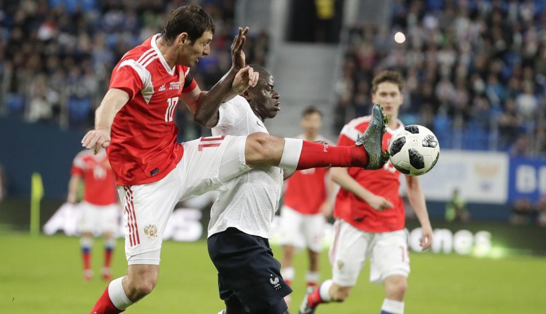 Mbappé ayuda a Francia ante Rusia a recuperar sensaciones (1-3)