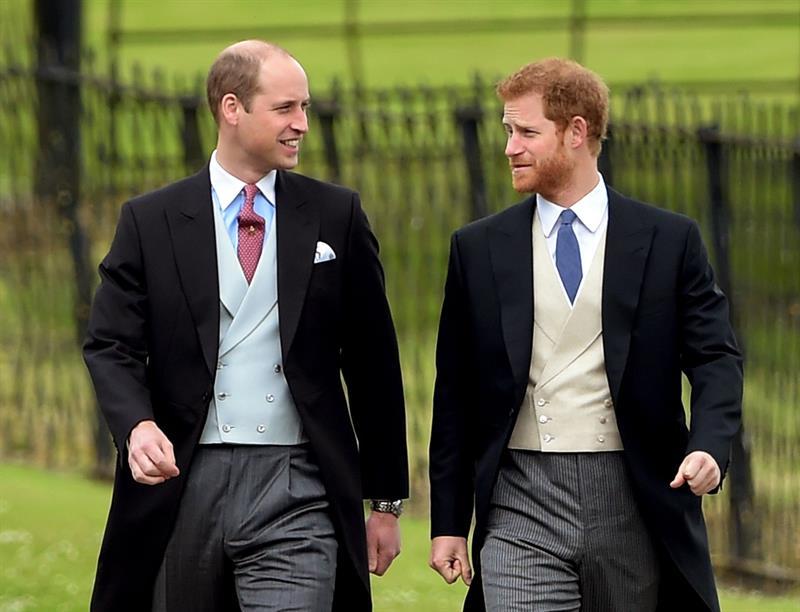 príncipe enrique hermano padrino boda guillermo oficial palacio
