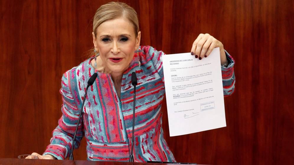 El Consejo de Europa alerta de la acción judicial de Cristina Cifuentes contra eldiario.es