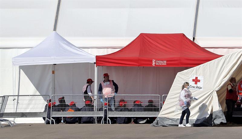 """Cruz Roja asegura que los tripulantes del Aquarius están en """"buen estado general"""""""