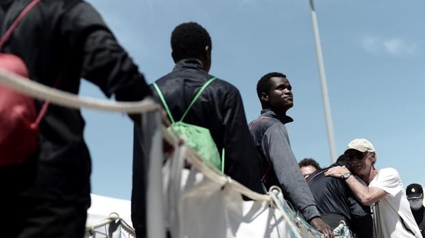 Cerca de la mitad de los inmigrantes del Aquarius opta por pedir asilo en Francia