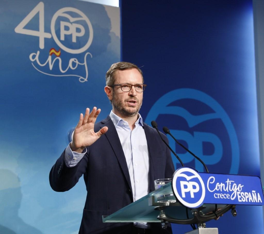 """El PP ve en el levantamiento del control financiero """"un pago por los votos prestados"""""""