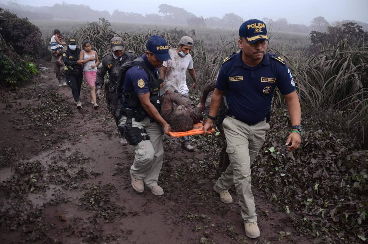 El volcán de Fuego de Guatemala causa 25 muertos y 1,7 millones de afectados