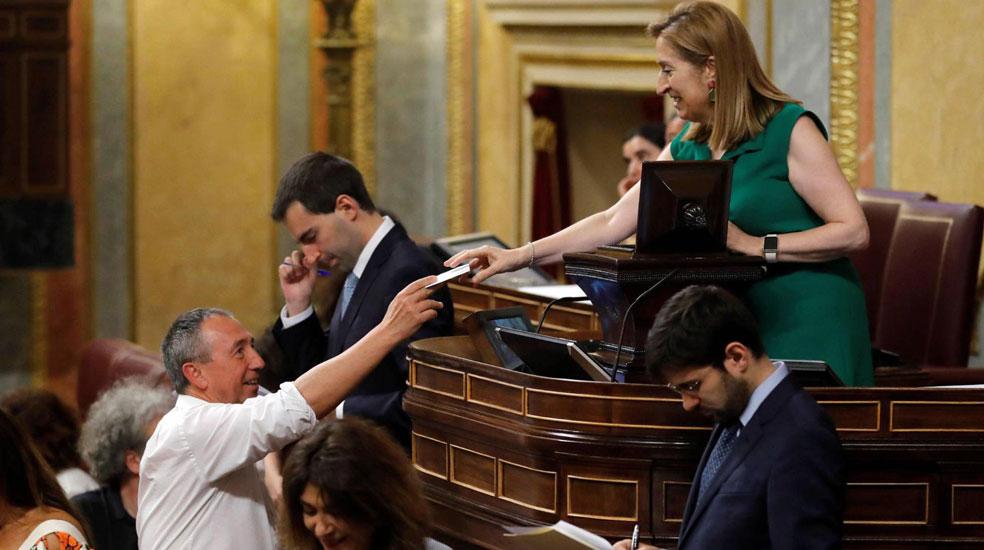 El Congreso no logra aprobar la renovación de RTVE por un voto