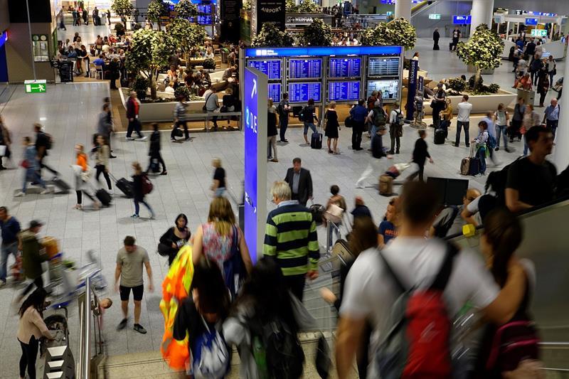 El aeropuerto de Frankfurt, evacuado tras un problema de seguridad
