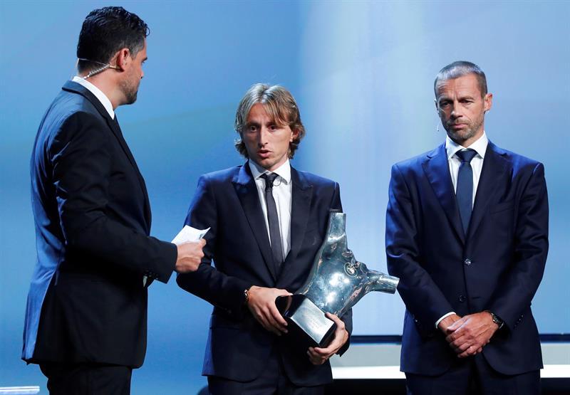 Modric, Ramos y Navas, premios de la UEFA a mejor jugador, defensa y portero del año