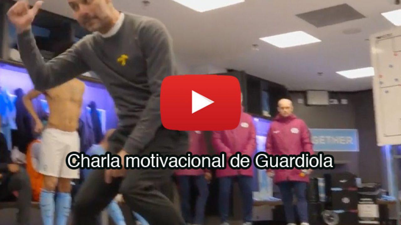 La Charla Motivacional De Guardiola Republica Com