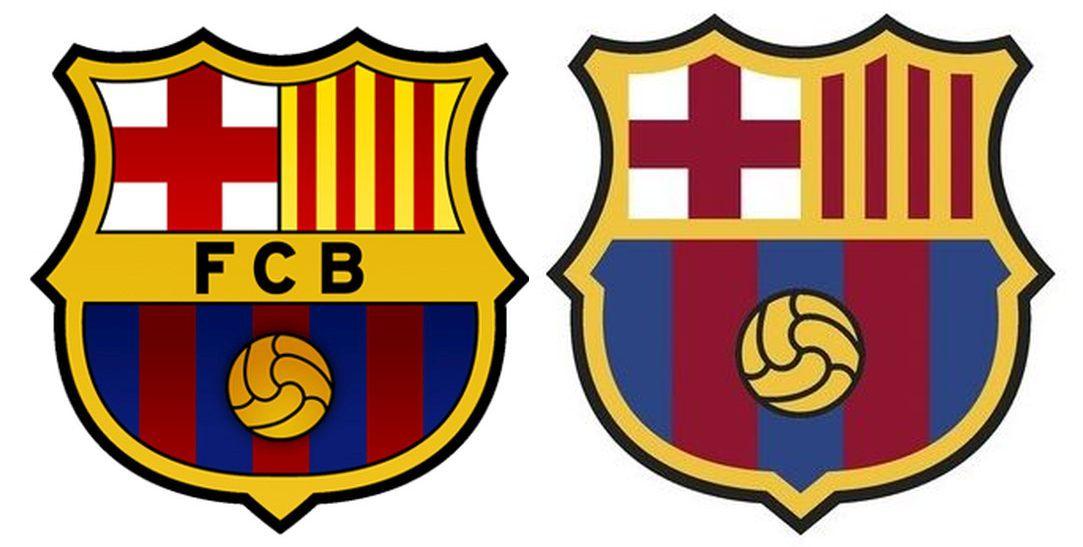 El FC Barcelona ha decidido modificar su escudo