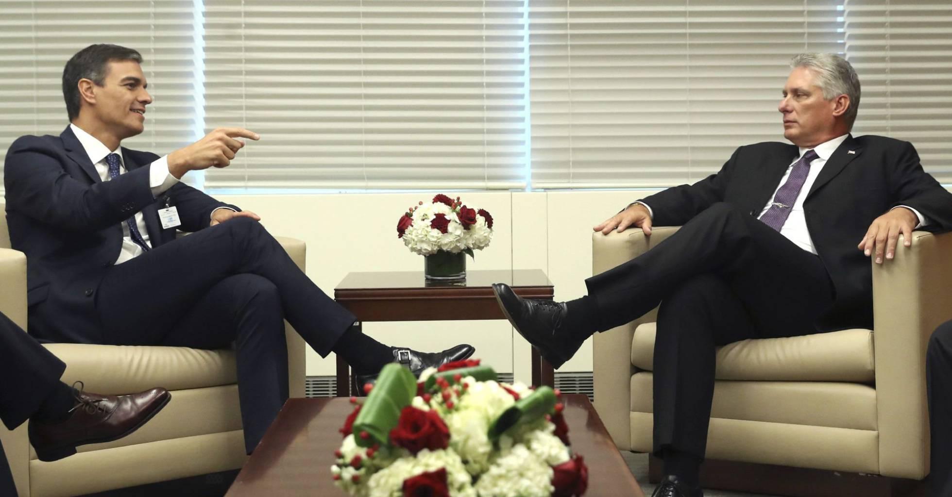 El presidente de España, Pedro Sánchez, viajará en noviembre a Cuba