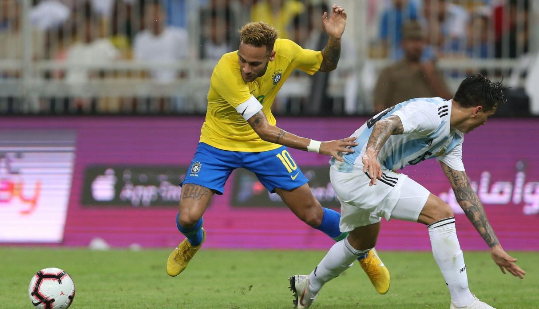 Un gol de Miranda en el descuento decide el clásico sudamericano (1-0)