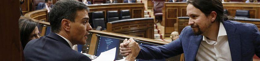 Pedro Sánchez y Pablo Iglesias cierran un principio de acuerdo para los Presupuestos de 2019
