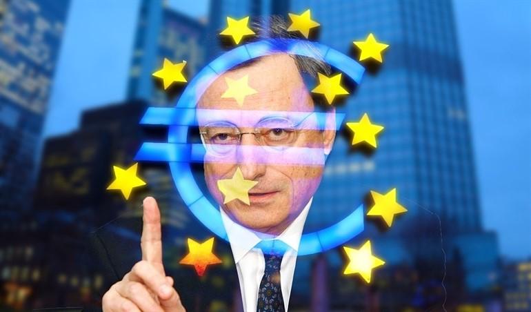 Draghi se va del BCE advirtiendo sobre los riesgos de recesión