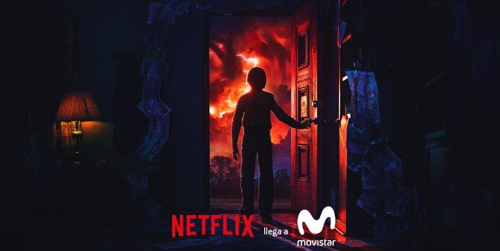Netflix llega hoy a Movistar integrado dentro de Fusión
